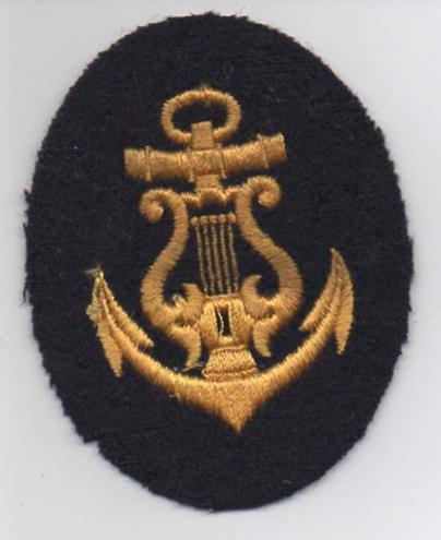 German Navy, Kreigsmarine Enlisted Mans Musician patch